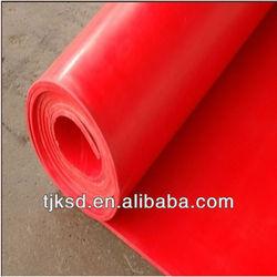 red/black colorful silicon rubber roll/ rubber silicone roll