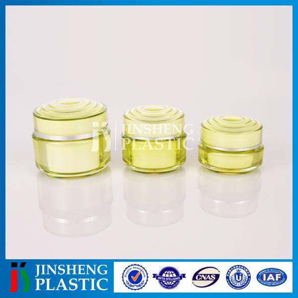 Customizable shape Environment-friendly cosmetic plastic jar