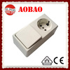 electrical switch and socket surface mounted W9019-5