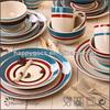 2014 NEW DESIGN handpainted ceramic dinnerware,wholesale dinner set,party tableware supplie