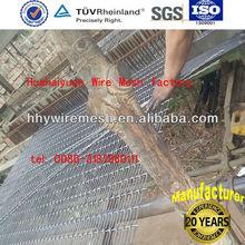 Flat top mining sieving screen mesh, cement sieving screen mesh (factory)
