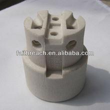 Factory price!!!CE certificate ceramic screw shell lamp base E27 FR519-8