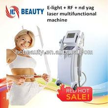 E-light iplrf laser machine face wrinkle machine hand held