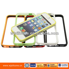 For iphone 5 hard plastic double color bumper