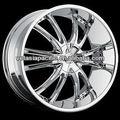 de aluminio de aleación de cromo sintonizador de mag rueda 20 22 24 26 bossini pulgadas