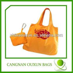 Recycled polyester foldable bag,foldable shopping bag,foldable tote bag