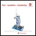best toy for children 3d paper model puzzle famous building