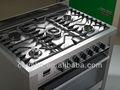 900mm 5 brenner freistehenden gasherd backofen
