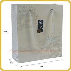 advertising paper bag for food
