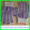 computer machine making personal protective equipment 55g pvc dotted cotton safety hand gloves working gloves
