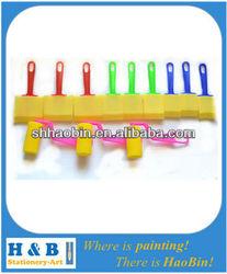 12PCS colorful sponge roller brush set