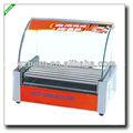 Automatische elektrische hot dog grill maschine( 9 rollen)