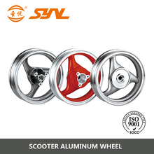 12 inch alloy scooter color wheel
