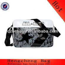Customized body bag Man PU leather shoulder bag