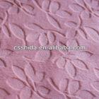 polyester warp knit burnout printing cheap jersey sheer sofa lace velboa fabric