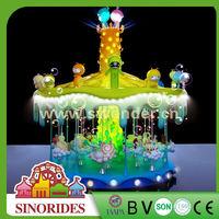 Bling bling kids small carousel ride,small carousel ride for sale