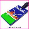 bulk high quality soft PVC travel luggage tag