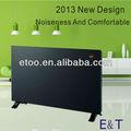 sertleştirilmiş cam panel alüminyum ısıtma elemanı LED LCD dokunmatik ekran Displayer elektrikli ısıtıcı konvektör duvar monte