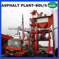 80 toneladas / hora asfalto ( betún ) planta de