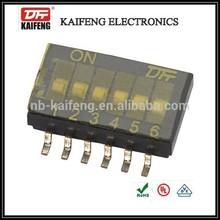 KF1028 dip switch 1.27mm terminal