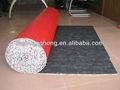 rouge vieux tapis rembourrage en oem