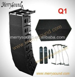 Q1(Q-Sub)speaker box line array system,empty speaker cabinets for sale,line array china