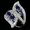 Brazil jewelry fancy gold ring design zircon ring butterfly shape