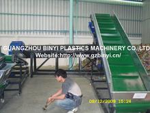 Waste Plastic PET bottle recycling machine plant, PET bottle crushing and washing recycling equipment line