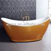 golden free standing bathtub Q141A