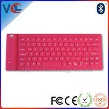 Portable bluetooth wireless keyboard mini case