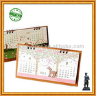 Stylish characteristic desk calendar printing service
