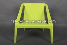Perfect plastic chair aluminium furniture outdoor lounge chair for restaurant