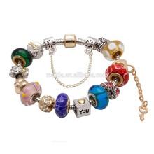New products fashion girls jewelry silver snake chain bracelet charms bracelet 2014