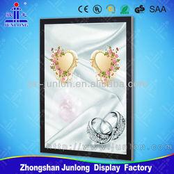 Advertisement, Frames For Pictures, Light Box with Magnetic Design, Aluminum Frame Light Box Zhongshan Junlong Lighting