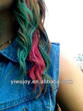 new design hair chalk/hair color chalk & yiwu temporary hair dye chalk & soft pastel color hair chalk pen