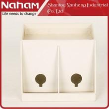 NAHAM Excellent White Fancy Cell phone holder for desk organizer
