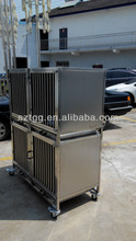 stainless steel 304 Vet Cage bank Vet Clinic Cage Vet Hospital Cage VHC01