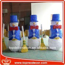 Elegant LED Lighting christmas ball snowman