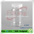 300ml vierge, pilule, pharmaceutiques. bouteille transparente en plastique pour animaux de compagnie, capsules de vitamines 300cc clair bouteille en plastique oem usine