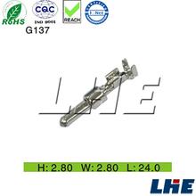 DJ211Q-2.8B 3 pole auto connector