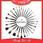 MSQ High-end 29pcs Black Professional Makeup Brush Set