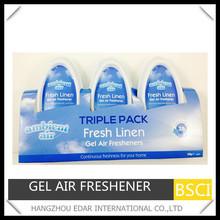 3pk*120g gel air freshener