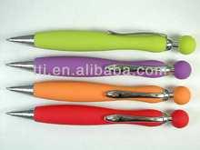 Plastic Pens ODM OEM Logo imprinted pen slogan advertising pen yes novelty promotional items