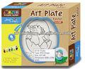 crianças crianças colorir decorativos artestic quente cerâmica porcelana licença jantar melamina vidro peso plate set