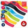 Multi function silicon sleep quality monitoring wristband stopwatch