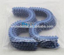 Supply high quality dental instruments orthodontic elastic ligature tie