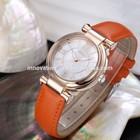 Hot sell luxury stainless steel diamond vogue watch women & men stainless steel watch