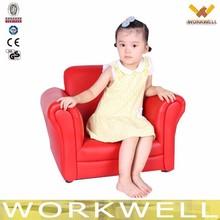 WorkWell classic cheap PU children sofa kids sofa Cs-12