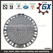 BS EN124 standard ductile iron 20 inch manhole cover