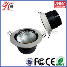 Australian COB Bridgelux / Epistar Chip LED CE RoHs FCC Listed Epistar LED Downlight China Round Recessed 15W LED Downlight